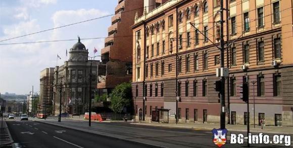 mapa beograda nemanjina ulica Nemanjina ulica   Beograd   BG Info.org mapa beograda nemanjina ulica